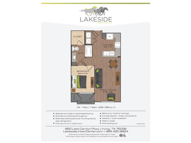 Floor Plan 7 | Lakeside Urban Center
