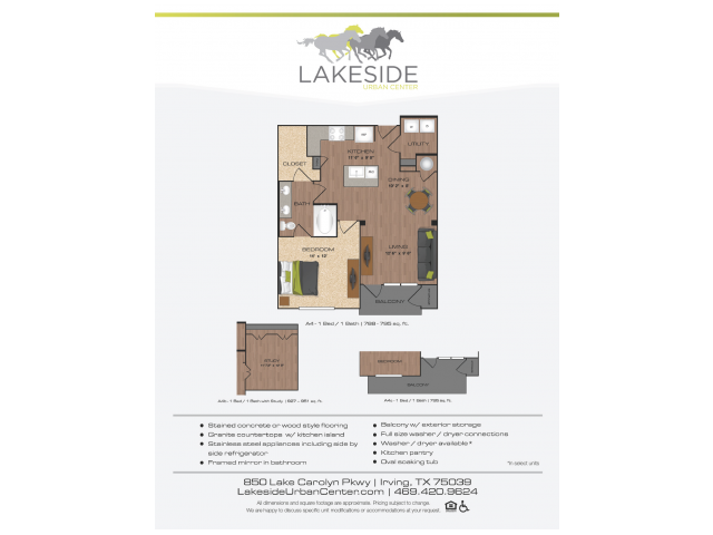 Floor Plan 11 | Lakeside Urban Center