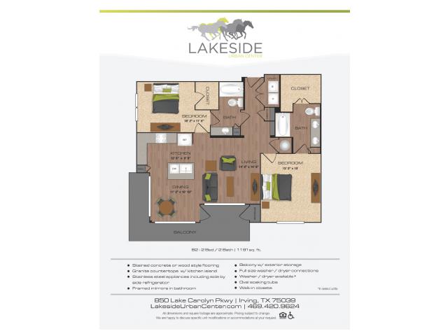 Floor Plan 5 | Lakeside Urban Center