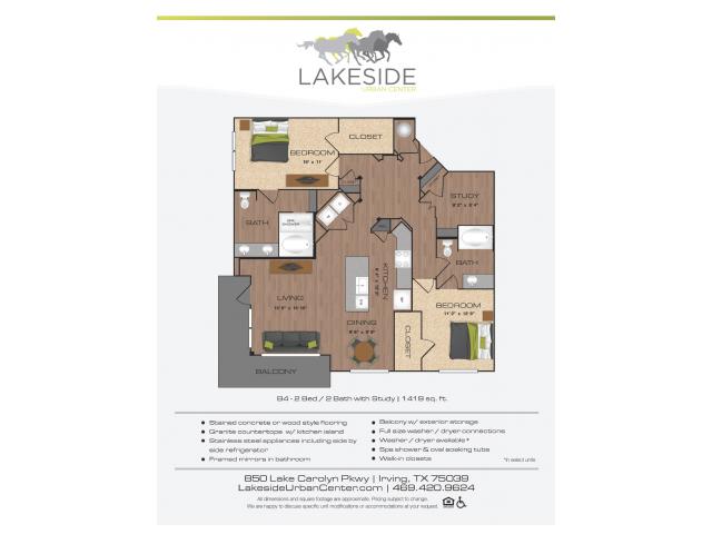 Floor Plan 6 | Lakeside Urban Center