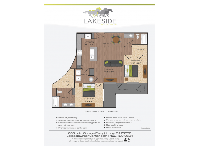 Floor Plan 15 | Lakeside Urban Center