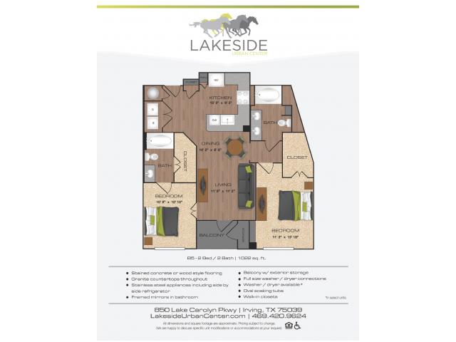 Floor Plan 14 | Lakeside Urban Center