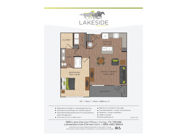 Floor Plan 12 | Lakeside Urban Center