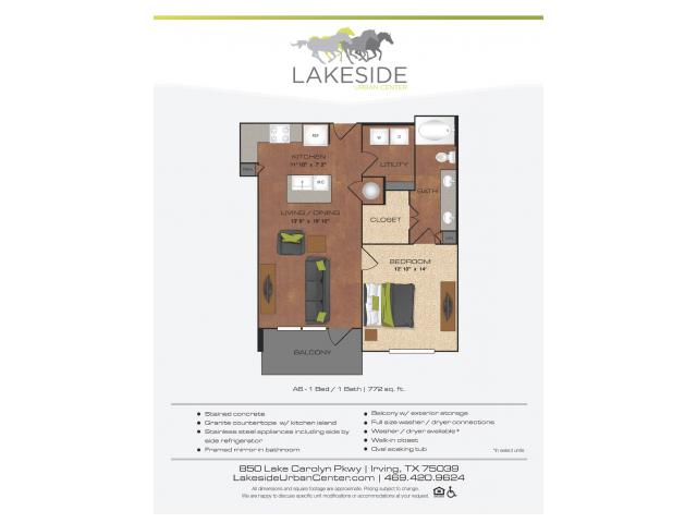 Floor Plan 13 | Lakeside Urban Center