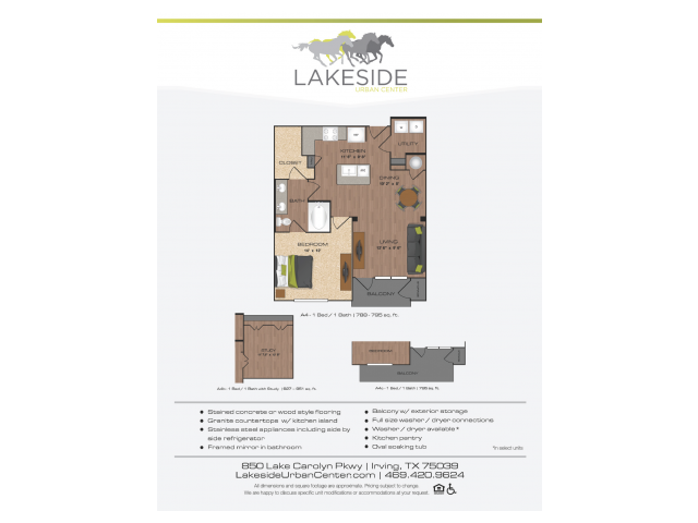 Floor Plan 9 | Lakeside Urban Center