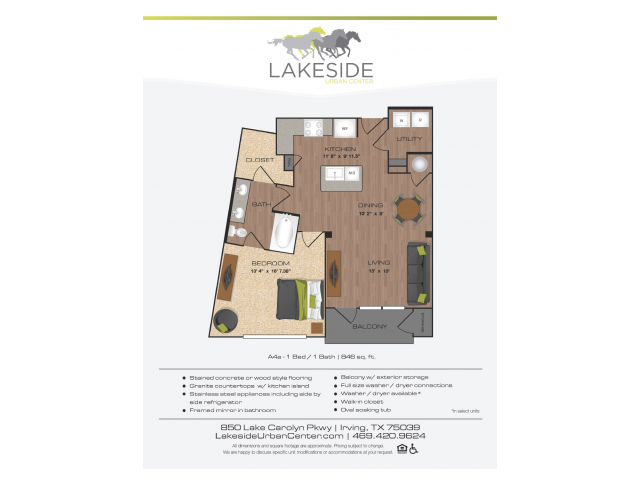 Floor Plan 10 | Lakeside Urban Center