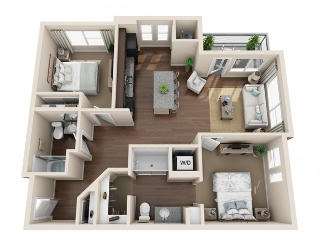 Durango CO Apartments | Floor Plans 7