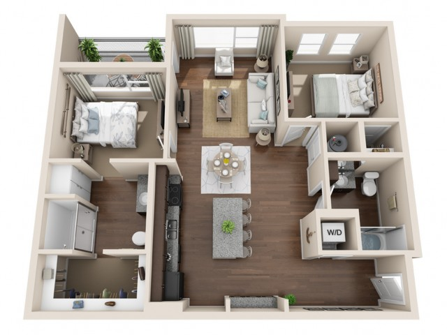 Durango CO Apartments | Floor Plans 9
