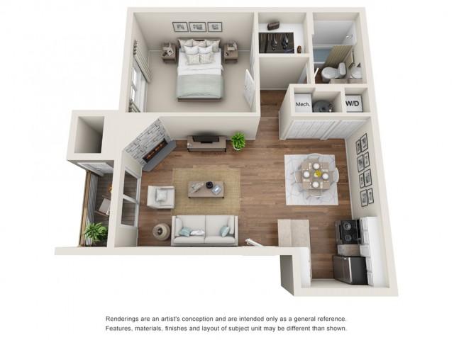 Floor Plan 2 | Sloan\'s Lake