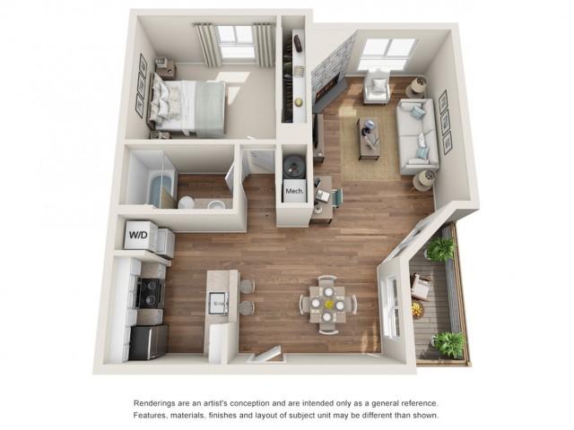 Floor Plan 3 | Sloan\'s Lake