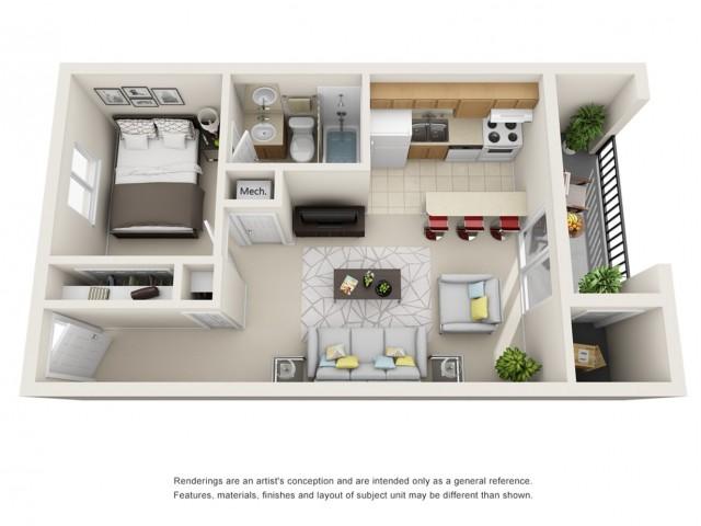 Visconti at Camelback Apartments