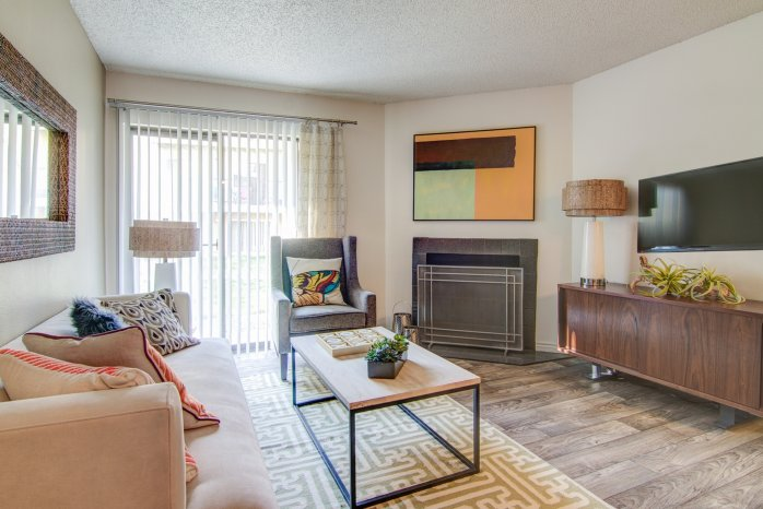 Elegant Living Room | Apartments In Arvada | The Ridge at Mountain View