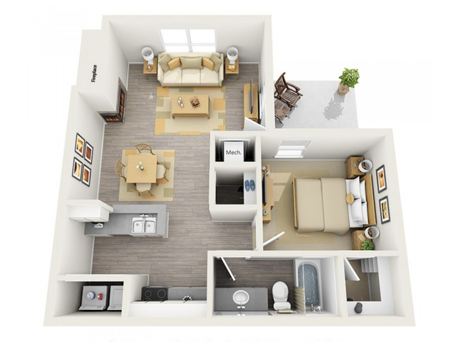 Floor Plan | Keystone Apartments