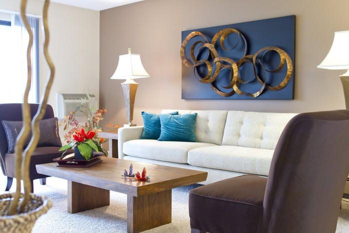 Spacious Living Room   Apartment In Denver   Summitt Ridge