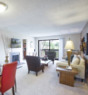 Luxurious Living Room   Luxury Apartments Denver Colorado   Summitt Ridge
