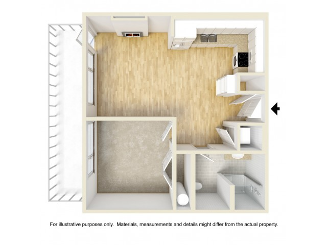 Floor Plan 7 | Yacht Harbor Club
