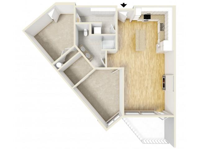 Floor Plan 16 | Yacht Harbor Club