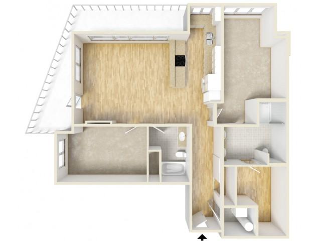 Floor Plan 48 | Yacht Harbor Club
