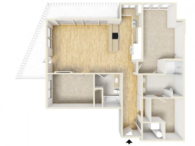 Floor Plan 51 | Yacht Harbor Club