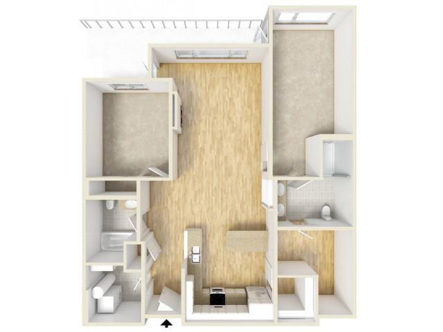 Floor Plan 53 | Yacht Harbor Club