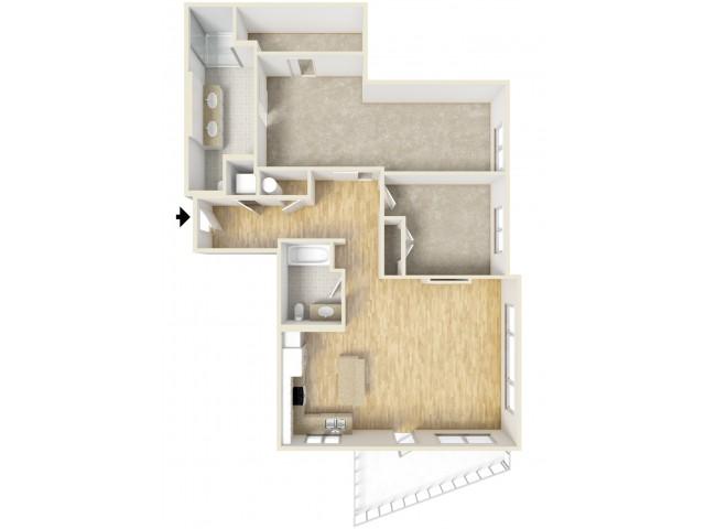 Floor Plan 56 | Yacht Harbor Club