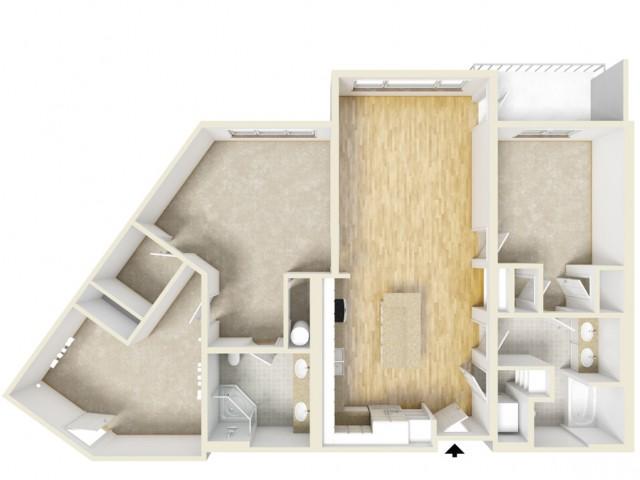 Floor Plan 62 | Yacht Harbor Club