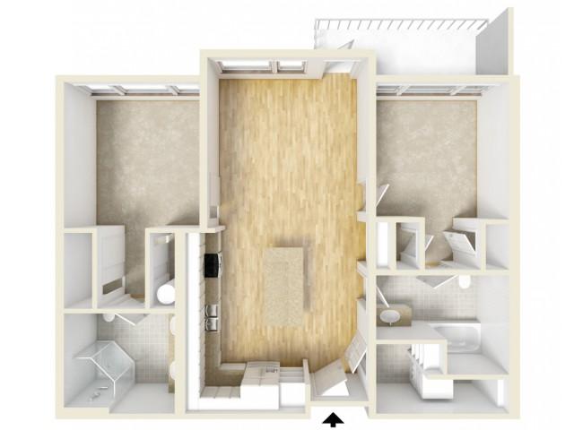 Floor Plan 68 | Yacht Harbor Club