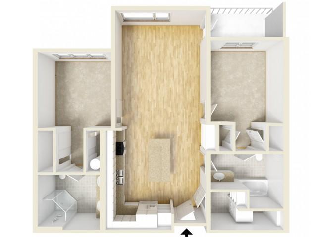 Floor Plan 77 | Yacht Harbor Club