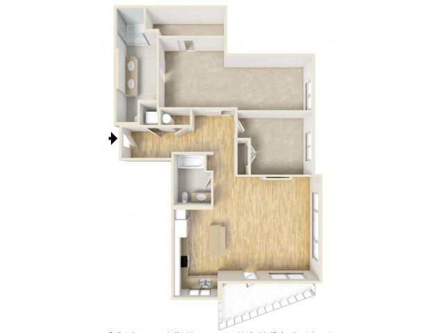 Floor Plan 80 | Yacht Harbor Club