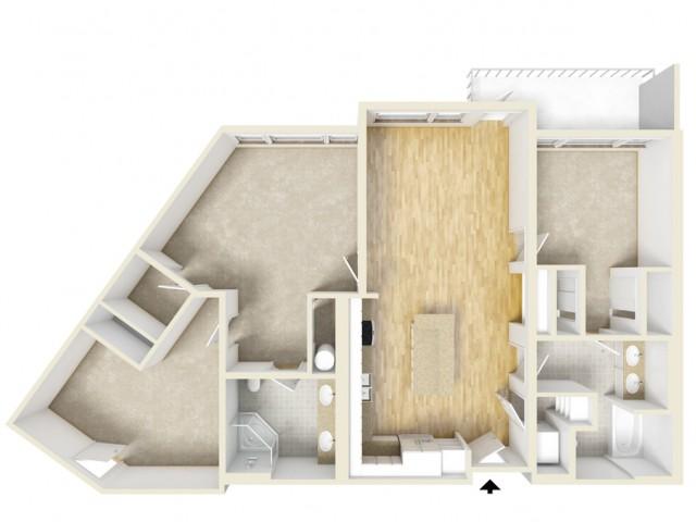 Floor Plan 83 | Yacht Harbor Club