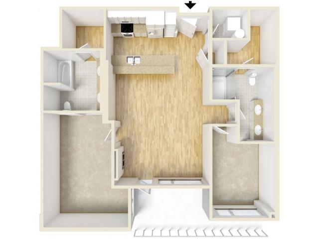 Floor Plan 88 | Yacht Harbor Club