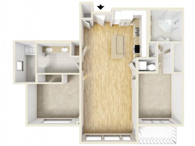 Floor Plan 91 | Yacht Harbor Club