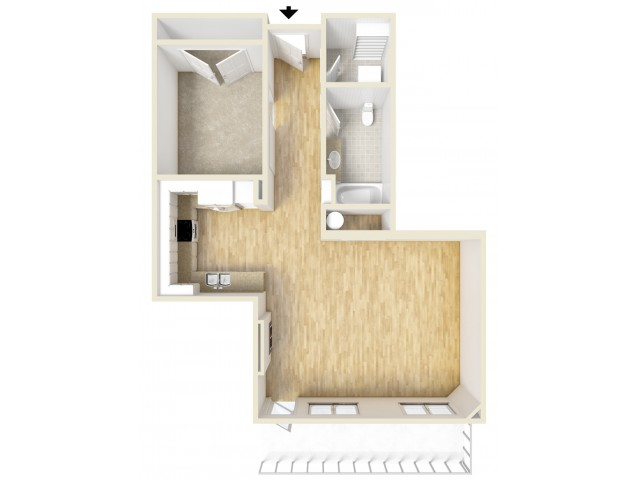 Floor Plan 94 | Yacht Harbor Club