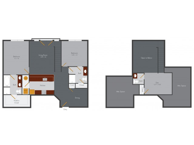 Three Bedroom 2 | Pencil Factory Flats