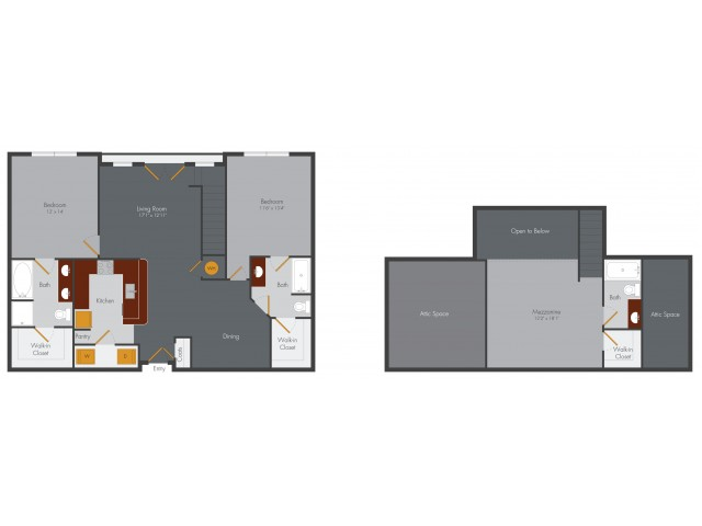 Two Bedroom 14 | Pencil Factory Flats