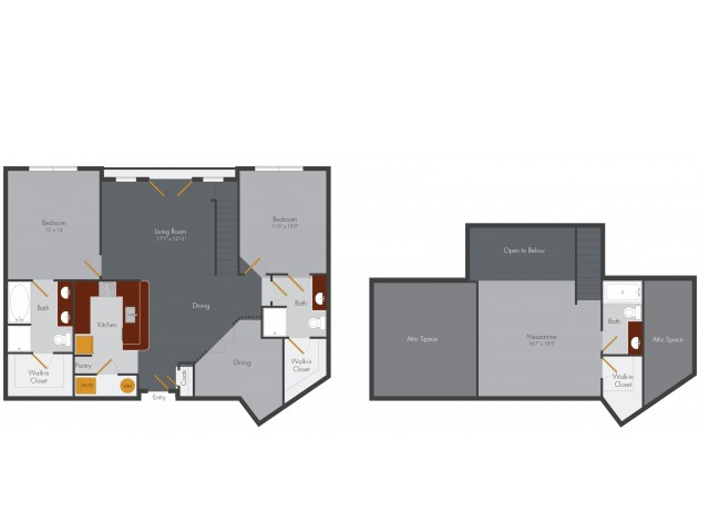 Three Bedroom 4 | Pencil Factory Flats