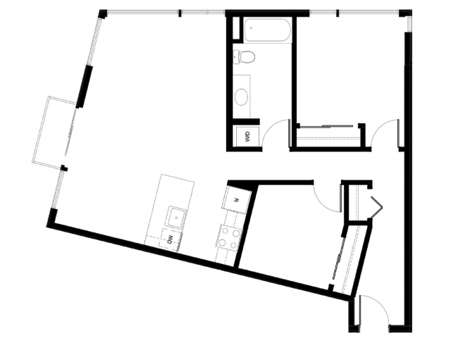 Floor Plan 1 | East Howe Steps