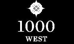 1000 West Logo