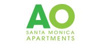 AO Santa Monica Logo | 1 Bedroom Apartment Santa Monica | AO Santa Monica