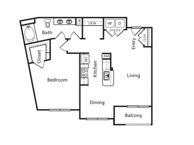 Floor Plan 11 | Voyager at Space Center