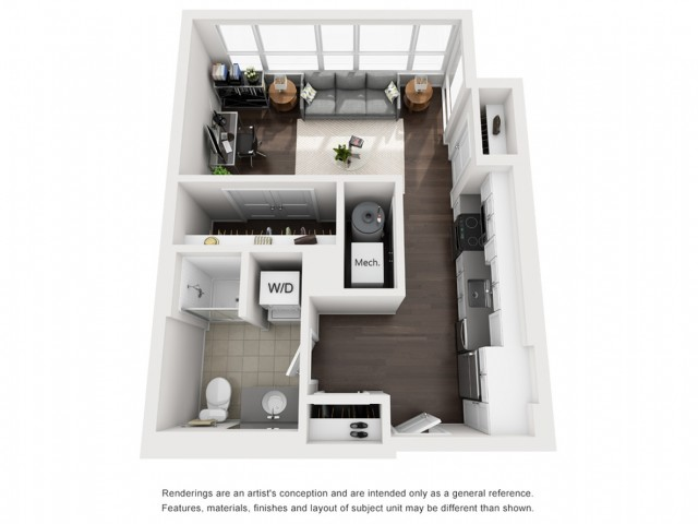 Floor Plan 2 | Apartment For Rent Somerville MA | Montaje