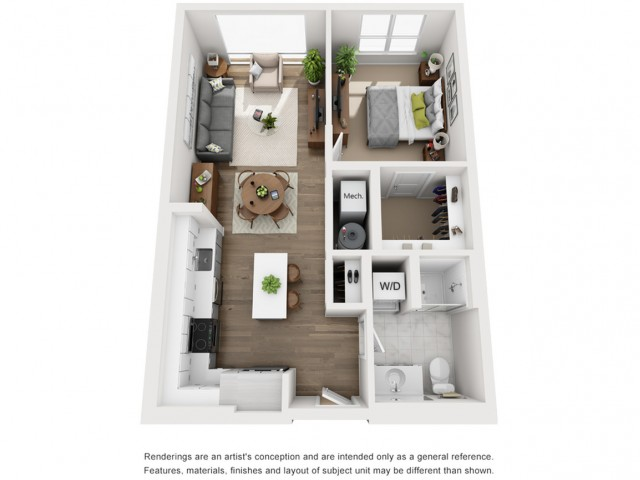 Floor Plan 9 | Somerville Apartment | Montaje