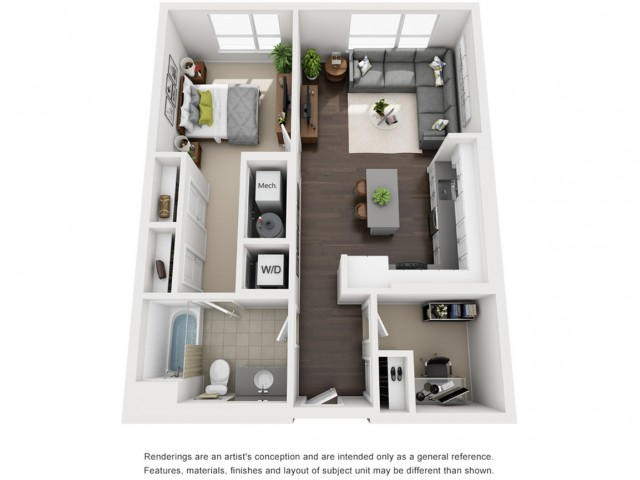 Floor Plan 10 | Apartment In Somerville MA | Montaje