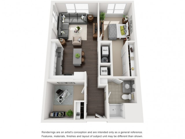 Floor Plan 12 | Apartment For Rent Somerville MA | Montaje
