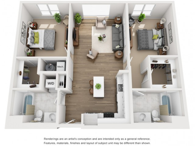 Floor Plan 14 | Somerville Apartment | Montaje