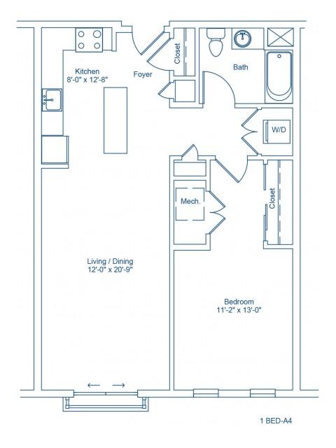The Shipyard Floor Plan - 1-A4