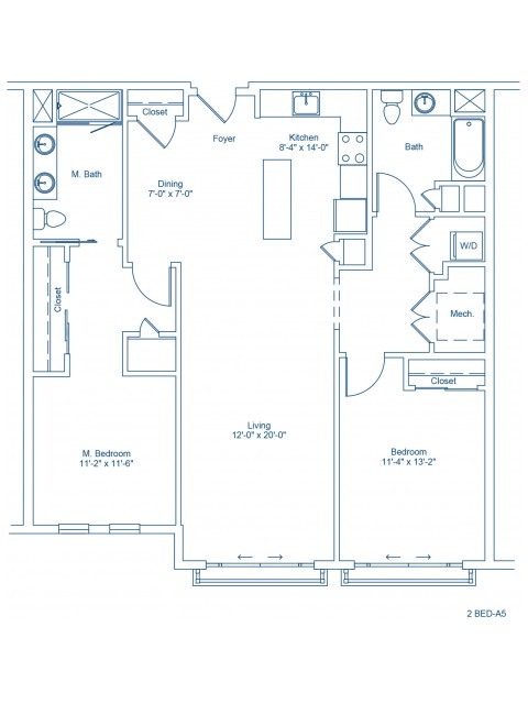 Floor Plan of 2-A5