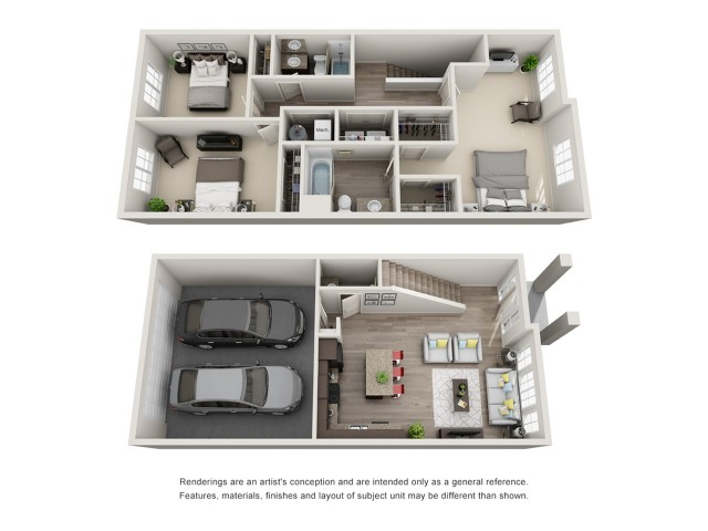 3 Bedroom Floorplan | Sandalwood 2