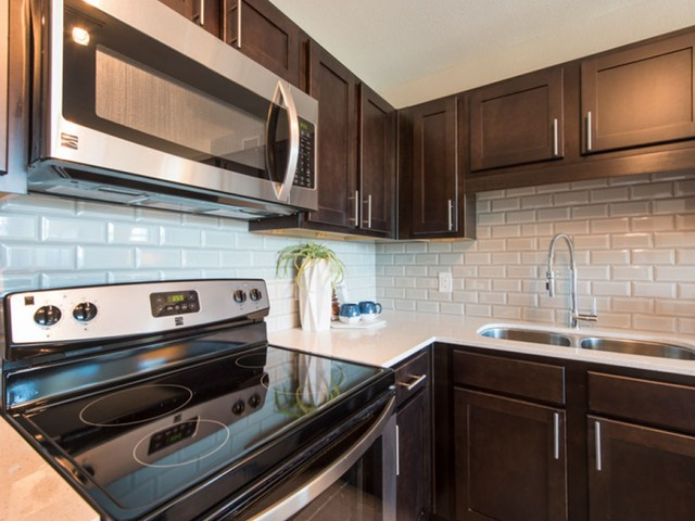 Image of Energy efficient stainless steel appliances for The Cabochon at River Oaks Apartments