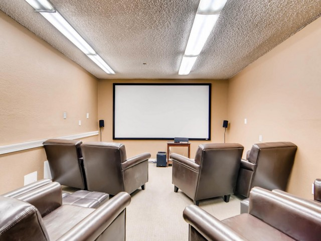 Image of Movie Theater   Room for Visconti at Camelback Apartments
